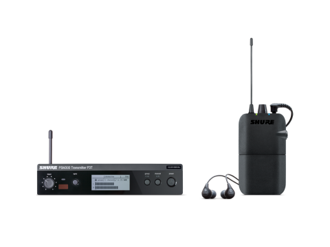 Shure P3TER112GR In-Ear Monitoring System