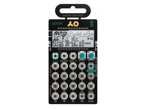Teenage Engi­nee­ring PO-35 speak